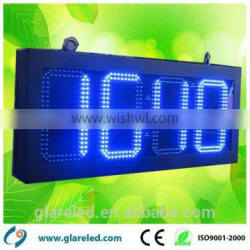 3 digit led display led time and temperature signs stop watch