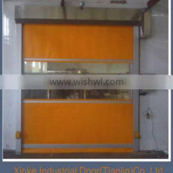 Interior roller shutter PVC high speed rolling garage door HSD-002