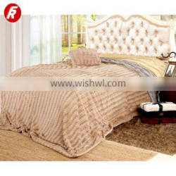 Adult Super Soft and fluffy thick PV plush blanket
