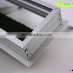 hot sell alibaba office table cable wire box, aluminum hole cover wire cover cable cover wire box for desk