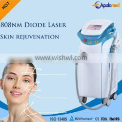 TUV Apolomed 3 IN 1 755 1064nm 808nm hair removal diode laser