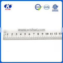 2016 wholesale new style 30cm aluminum alloy ruler with customized logo for education
