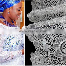 white guipure lace fabric/gold guipure lace fabric/yellow guipure lace fabric/black guipure lace /royal blue guipure lace so on