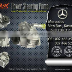 Electric Power Steering Pump Applied For Mercedes BENZ Vito Bus 638,Kasten 638 1996/02-2003/07 002 466 4901, 002 466 5201