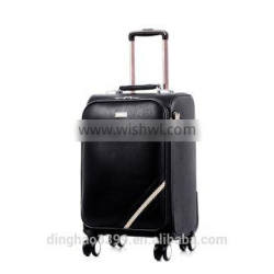 2016 new design product for women luggage 4wheels trolley travel bag with high capacity