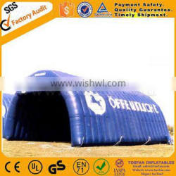 Top quality tunnel design inflatable tent,PVC sealed lawn tent F4005C