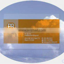 Free Design~~!!!Clear transparent Gift Card