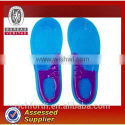 silicon shoe insoles with customized sizes