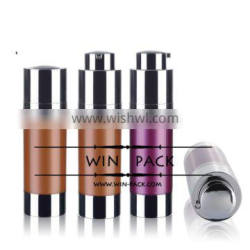 WY0213 hot cosmetic bottle, SAN airless bottle,10ml 15ml bottle