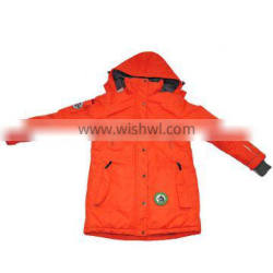 Men's Multifunction Polyester Jacket with Hood