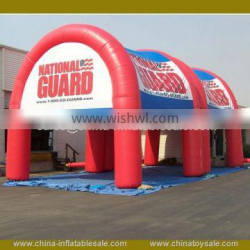 Inflatable cube tent outdoor for wedding, inflatable tents giant exhibition , inflatable arch tent for sports event