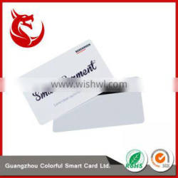 Promotional ROHS standard size blank pvc rfid smart magnetic card Quality Choice