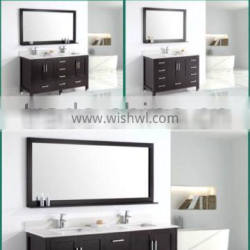 USA modern bathroom vanity series with quartz top