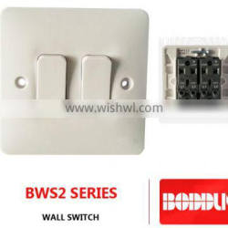 BWS2 WALL SWITCH NEW MODEL type 2 3 4 GANG
