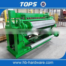 China new fully automatic welded wire mesh fence making machine