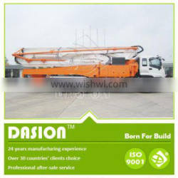 Top Quality and Service DSTP-45 Concrete Cement boom Pump Truck