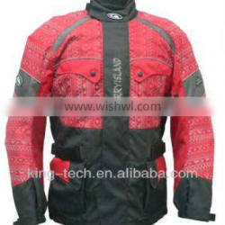Retro-reflective motorcycle clothing cycling wear