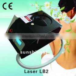 Q Switch Laser Tattoo Removal Machine Portable ND YAG Laser Hair And Tattoo Telangiectasis Treatment Removal Machine With LOW Price Pigmented Lesions Treatment