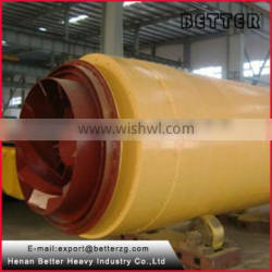 Better high quality rotary dryer for silica sand