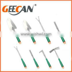 New product for 2017 portable garden tool,8pcs garden tool set with cheap price,Promotion gift garden hand tool