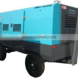 PDSH600S portable Diesel screw compressor Airman for drill rig