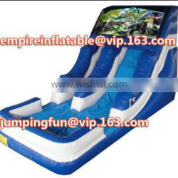 High quality inflatable water slide medium slide for kids play ID-SLM078
