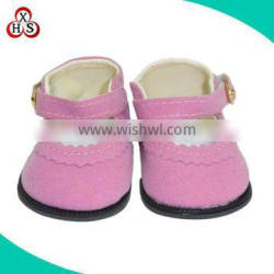high quality rubber sole doll shoes amercian gril doll high heel shoes