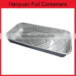 foil pizza pan meal food packing and BBQ aluminum take-out containers