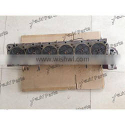 J08E Complete Cylinder Head Assy With Valves For Excavator Diesel Engine Spare Parts