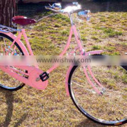 "28"" pink lady bike for hot sale (SH-TR068)"