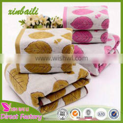 Wholesale High Quality Cut Pile 100% Cotton Hotel Bath Towel