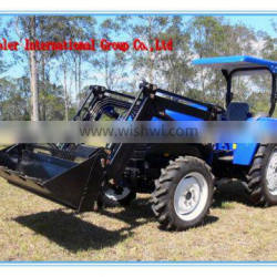 40HP/55HP Tractor with front end loader, 4in1 bucket