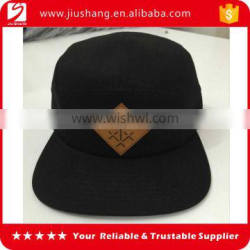 2016 custom acid wash 5 panel 100% cotton twill baseball cap with factory direct supply