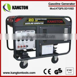 10KW Portable Gasoline Generator with 100% Copper Winding