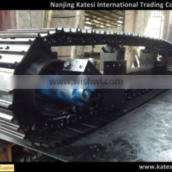 Construction machinery undercarriage parts track chain/roller/ sprocket/ idler/ rubber track for excavator /dozer