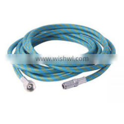 """Braided Airbrush Air Hose 1/8""""-1/4"""" Adapter Fitting -With Quick Release & Air Control Adapter Fitting- Used for Airbrush / Air"""