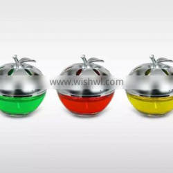 2015 Hot-sale apple bottle car perfume air freshener car aroma scent