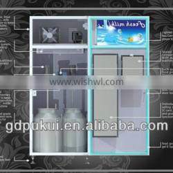 Refrigerated Milk vending machines with Full stainless steel