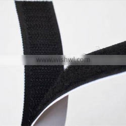 Self adhesive tape Hook and loop with release paper liner or poly liner