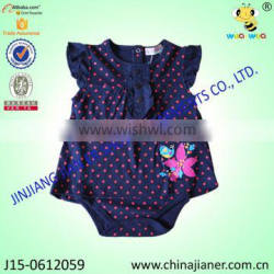 100% cotton baby bodysuit baby clothes cheap goods from china