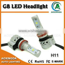 6000LM CREE XHP50 adjustable LED headlight H11 H8