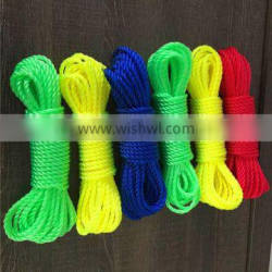 3 or 4 srand high tensile PE twisted rope