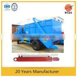trailer telescopic hydraulic jack for garbage truck