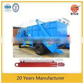 trailer single acting hydraulic jack for garbage truck