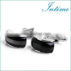 Elegant Cat Eye Stone Men's Cuffllinks
