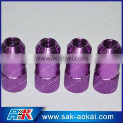 Anti-theft Screw Aluminum Racing Wheel Nuts