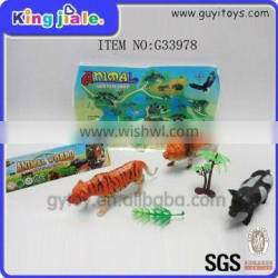 Factory Manufacture Various Small Plastic Toy Animals
