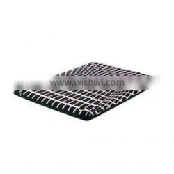 Silicone material black with white 3D fashion silicone case shell for Ipad2