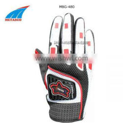 Synthetic Leather Racing Gloves