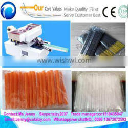 Automatic single drinking straw packaging machine factory